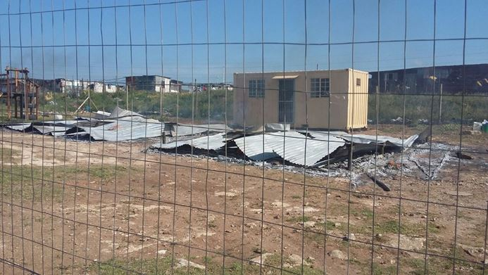Under The Tree ECD center burnt down